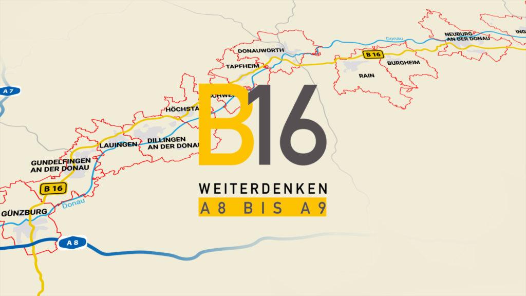 Wir starten mit dem Ausbau der B16