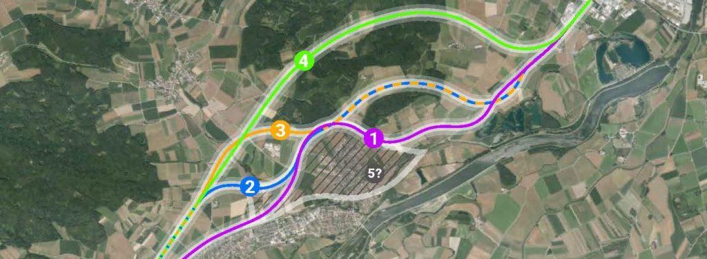 B16 Tapfheim Trassenführung