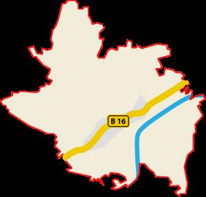 Karte zu Tapfheim